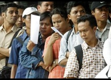 Demographic Disaster Awaits Indonesia Amid Rising Unemployment