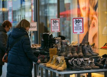 Europe Deflation Scare Over?