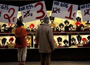 Eurozone Inflation 0.4% Higher