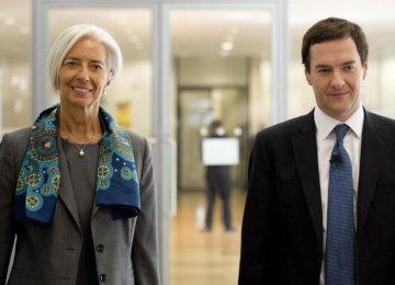 IMF 'Salutes' UK Performance