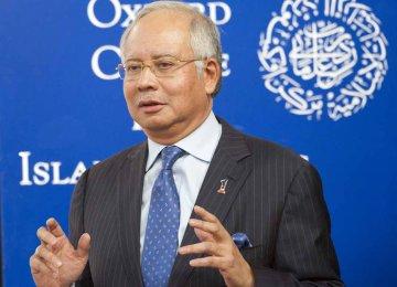 Razak: Malaysia Economy on Track