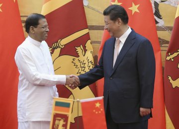 Sri Lanka Eyes China as Major FDI Source
