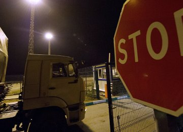 Ukraine Bans Russian Trucks