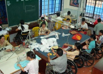 Vietnam Disabled Face Uphill Battle for Jobs