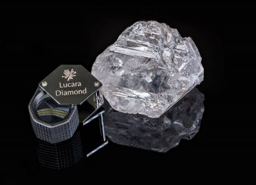 World's 2nd-Largest Diamond Found in Botswana