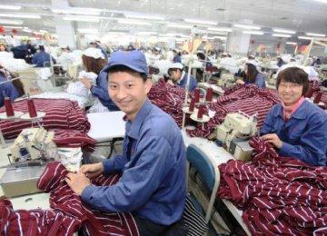 China PMI Improves