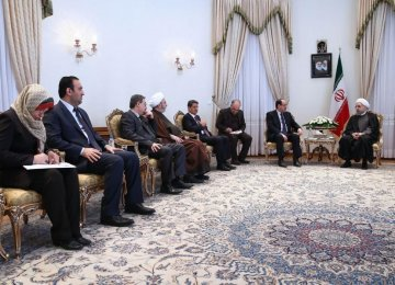Baghdad  Reassured  of Anti-Terror Support