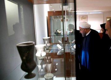 Antiques Returned  From Belgium Unveiled