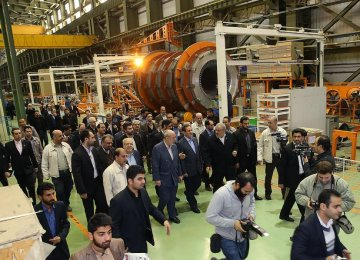 Wind Turbine Production Line Opens