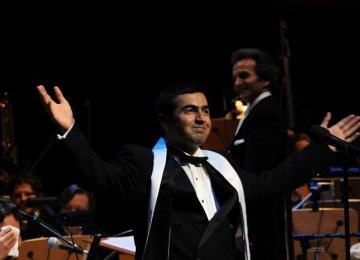 Homay's Classical Music Concert in Tehran