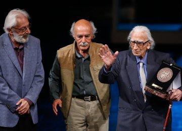 Centenarian Actor Shahinkhu Honored