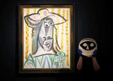 Art at Christie's London fetches $113m
