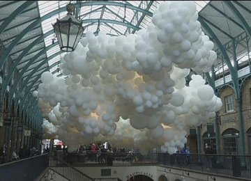 Exhibition of Thousands of Balloons