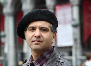 Iranian Percussionist at Belgium Fest
