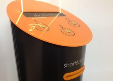 'Short Story Dispensers' in French Alps