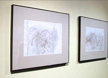 Drawings on 'Kalileh and Demneh' Tales