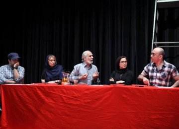 Lorestani's 'Last Supper' on Stage