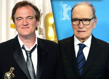 Morricone to Score Tarantino's 'Hateful Eight'