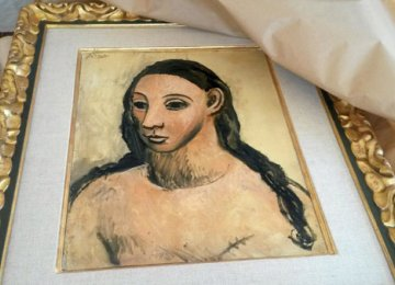 Impounded Picasso Painting in Madrid Museum