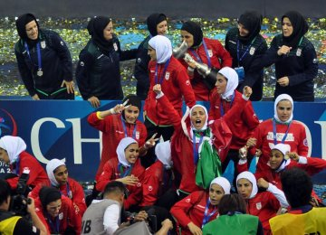 Rouhani Directive on Women Futsal Team