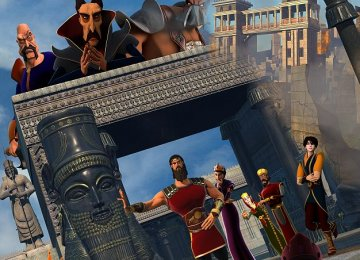 Persian Epic 3D Animation Screened in US, S. Africa