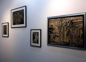 Sadr Paintings at 2 Galleries
