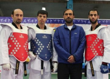 Iranians Top WTF Para-Taekwondo List