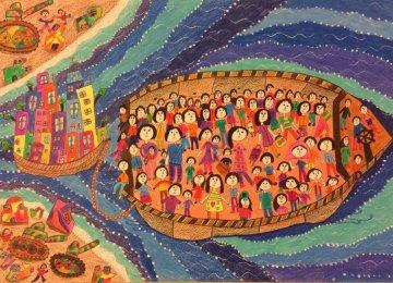 'War' in Children's Painting