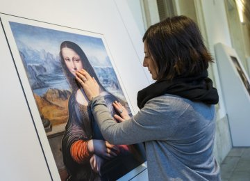 Blind Visitors Can Touch Masterpieces at Madrid Gallery