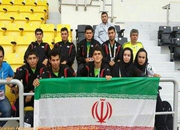 Bronze Medal for Female Athlete in Doha