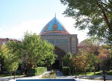 Yerevan Blue Mosque Symbol of Iran-Armenia Bonds