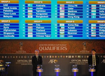 Iran Drawn in Easy Group