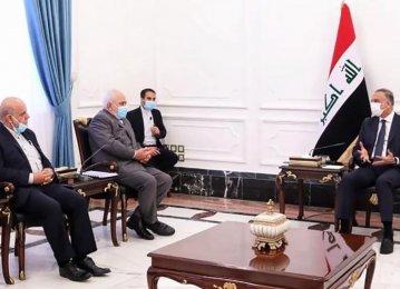 Zarif Holds Top-Level Talks in Iraq