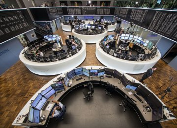 The DAX of Germany dropped 0.48% and the CAC 40 of France fell 0.50%.