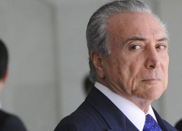Temer Defiant, Refuses to Resign