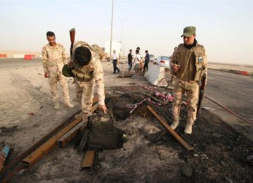 IS Claims Basra Bombing