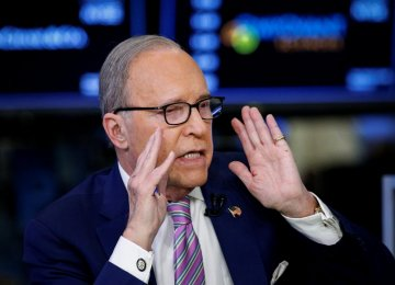 White House Signals Kudlow Is Frontrunner for Top Economic Job