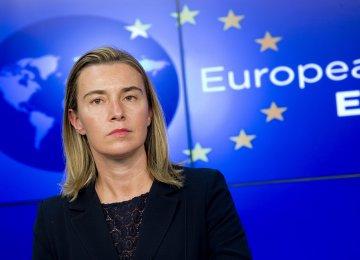 EU Pledges to Uphold JCPOA