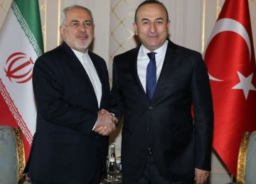 Cavusoglu, Zarif Discuss Plight of Palestinians