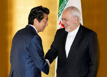 Japan Will Continue Efforts to Promote Mideast Stability