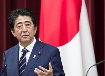 Abe Mulling June Visit to Iran