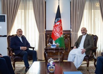 FM Aide Meets Top Afghan Diplomat