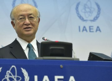 IAEA Board of Governors Updated on Iran Verification Process