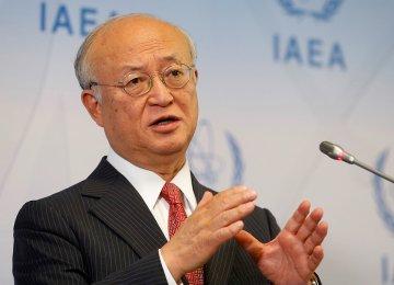 Amano: Tehran Still Complying With JCPOA