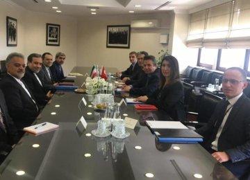Tehran, Ankara Hold Political Consultations