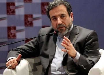 Araqchi: Ceasefire Could Facilitate Talks