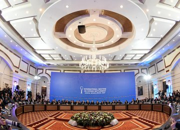 The next round of Astana talks is to be held in the last week of August.