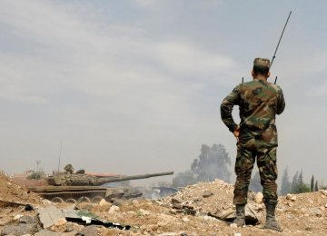 No Iranian Forces Harmed in Syria Missile Attacks