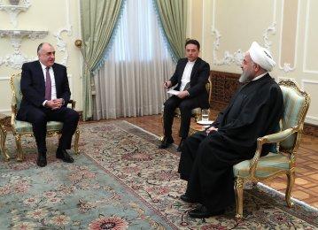 Tehran, Baku Determined to Develop Wide-Ranging Ties