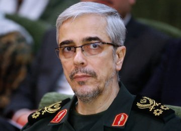 Iranian Military Chief in Russia